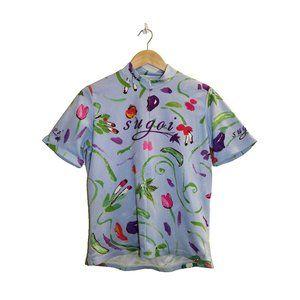 SUGOI 1/2 Zip Cycling Jersey Shirt w Pockets